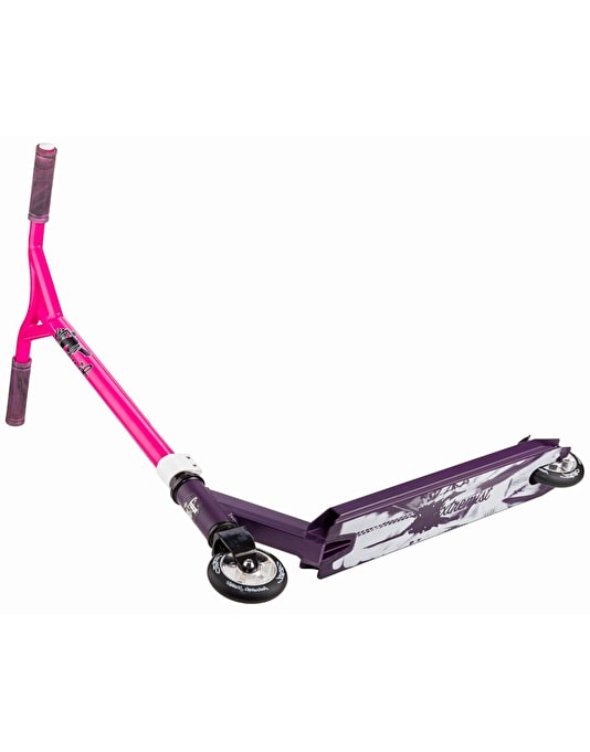 Grit Extremist 2017 Scooter - Satin Purple/Pink