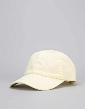 Route One Low Profile Dad Cap - Pastel Lemon