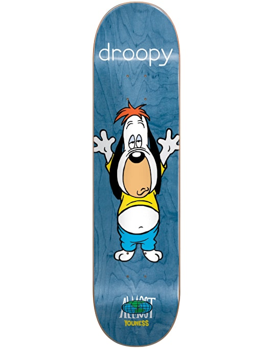 Almost x Hanna-Barbera Youness Droopy Stretch Pro Deck - 8""