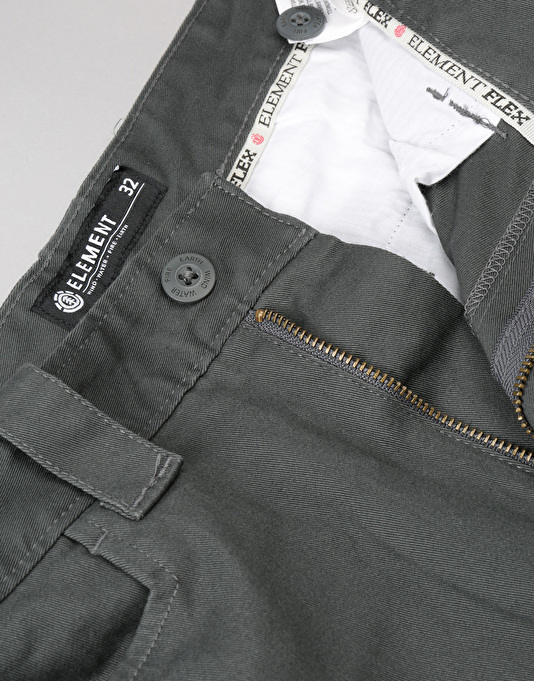 Element Sawyer Chinos - Stone Grey