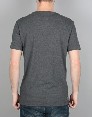 Adidas Clima 3.0 T-Shirt - Dark Grey/Heather/White