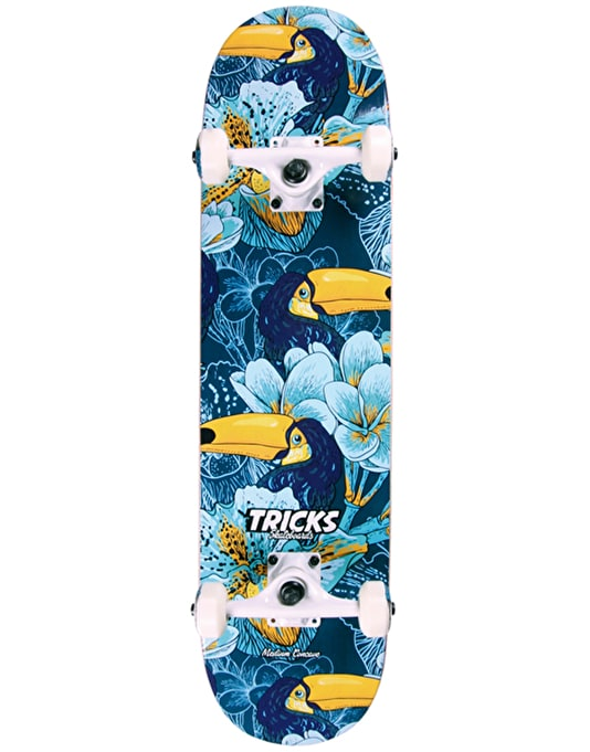 Tricks Tropical 16A Series Complete Skateboard - 7.75""