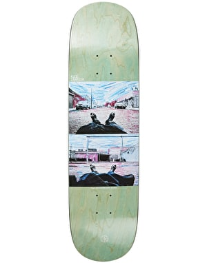 Polar Zawisza Happy Sad Around The World Skate Deck - P2 Shape 8.5