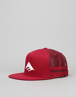 Emerica Triangle Trucker Cap - Oxblood