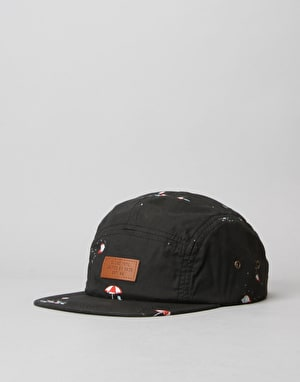 Globe Wright 5 Panel Cap - Black