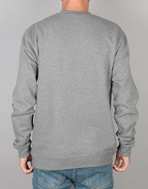 Habitat x Twin Peaks Welcome to Twin Peaks Crewneck - Heather Grey