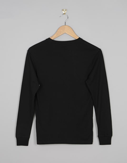 Volcom Circle Stone Boys Long Sleeve T-Shirt - Black
