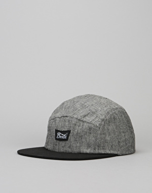 Brixton Stith 5 Panel Cap - Black