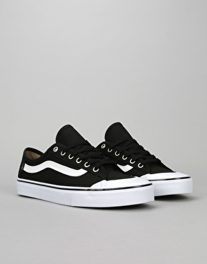 Vans Black Ball SF Skate Shoes - Black/White/Black
