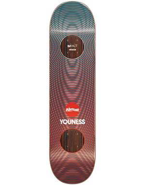 Almost Youness Metallic Vibes Impact Support Pro Deck - 8
