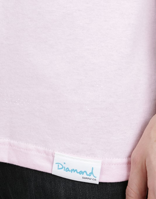 Diamond Supply Co. x Marilyn Monroe Blow Up T-Shirt - Pink