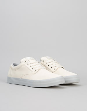Supra Chino Skate Shoes - Off White/Light Grey