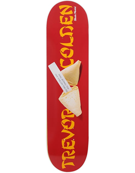 Skate Mental Colden Fortune Cookie Skateboard Deck - 8""