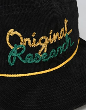 LRG Original Research Snapback Cap - Black