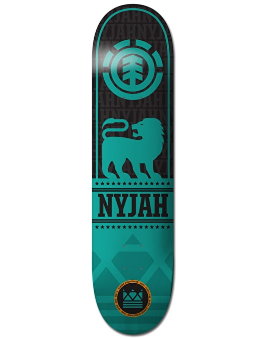 Element Nyjah Courage Featherlight Skateboard Deck - 7.75""