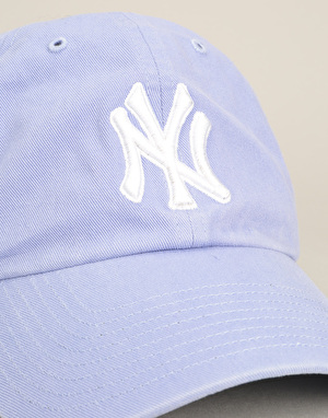 '47 Brand MLB New York Yankees Relaxed Clean Up Cap - Lavender
