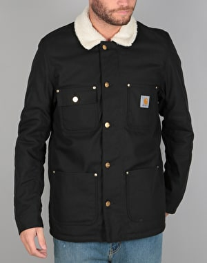 Carhartt Fairmount Jacket - Black Rigid