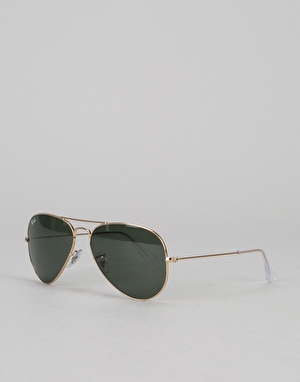 Ray-Ban Aviator Classic - Gold/Green Classic G-15 Lens RB3025 L0205