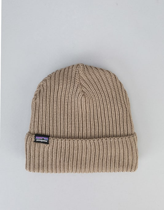 Patagonia Fishermans Rolled Beanie - Ash Tan
