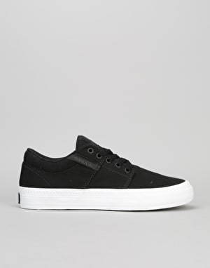 Supra Stacks Vulc II HF Skate Shoes - Black/White