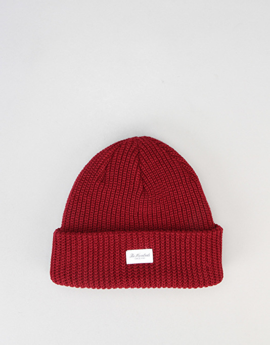 The Hundreds Crisp 2 Cuff Beanie - Burgundy