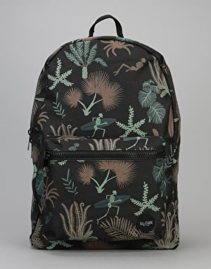 Globe Dux Deluxe III Backpack - Black/Multi