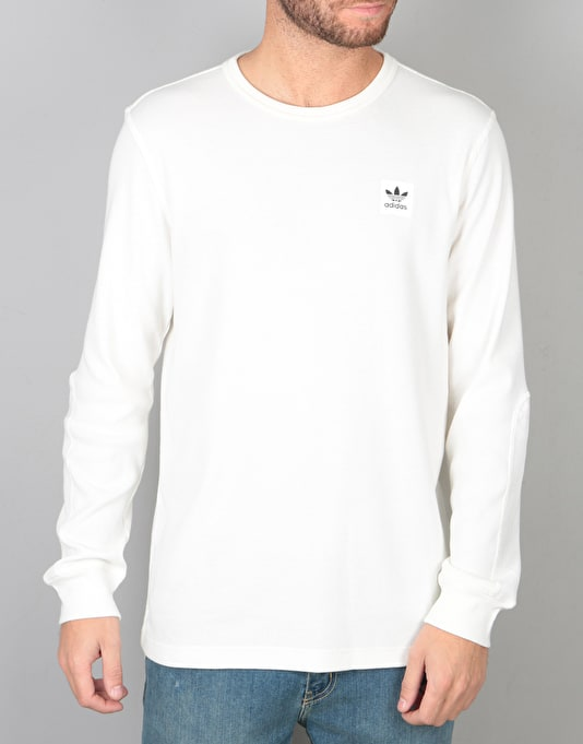 Adidas Thermal L/S T-Shirt - Off White