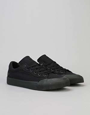 Emerica Indicator Low Skate Shoes - Black/Black