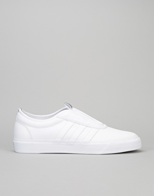 Adidas Adi-Ease Kung-Fu Skate Shoes - White/Core Black/White