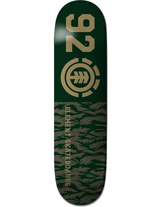 Element 92 Tiger Featherlight Team Deck - 8""