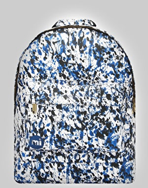 Mi-Pac Paint Splash Backpack - Blue/Black