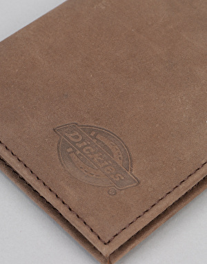 Dickies Ridgeville Leather Wallet - Brown