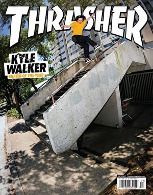 Thrasher Magazine Issue 441 April 2017