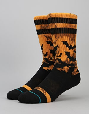 Stance Batfink Athletic Crew Socks - Orange
