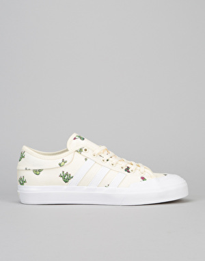Adidas Matchcourt R1 Exclusive Skate Shoes - Cactus/Cream/White/Gum