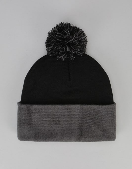 Element Dusk Pom Beanie - Flint Black/Stone Grey