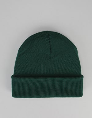 Route One Cuff Beanie - Bottle Green