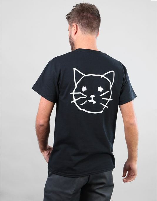 Route One Pussy T-Shirt - Black