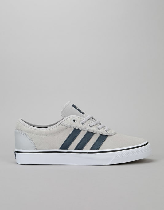 Adidas Adi-Ease Skate Shoes - Solid Grey Collegiate Navy White ... d7fcf11ab