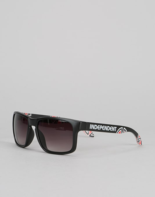 Independent Cross Bar Sunglasses - Black