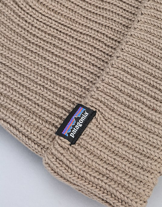 Patagonia Fisherman Rolled Beanie - Ash Tan