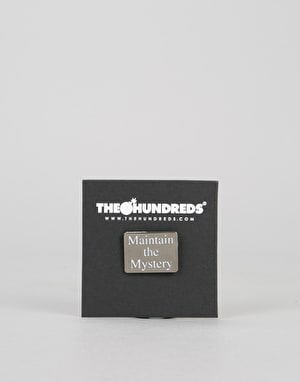 The Hundreds Maintain Pin - Black