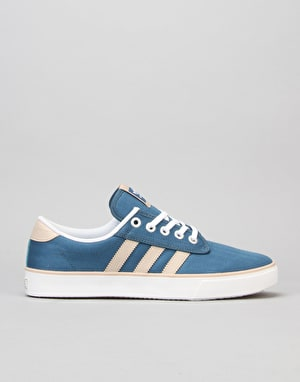 Adidas Kiel Skate Shoes - Blanch Blue/Clay Brown/White