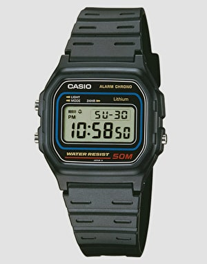 Casio W-59-1VQES - Black