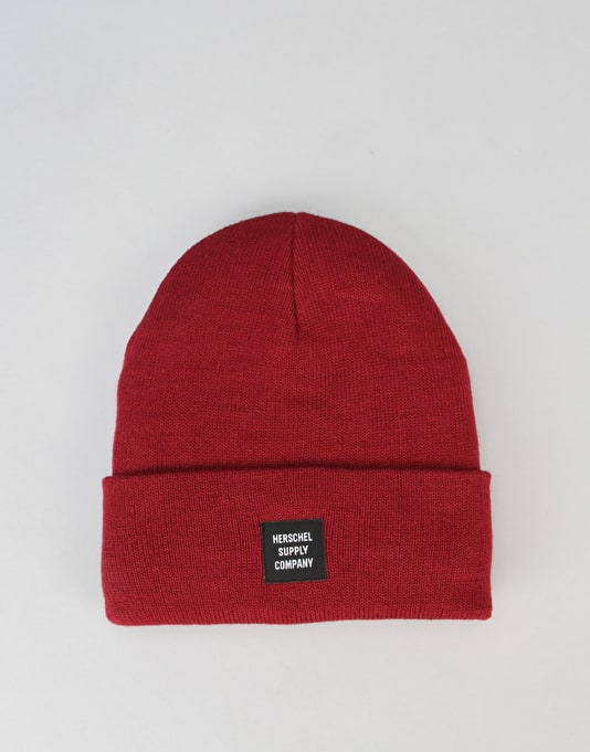 Herschel Supply Co. Abbott Beanie - Windsor Wine