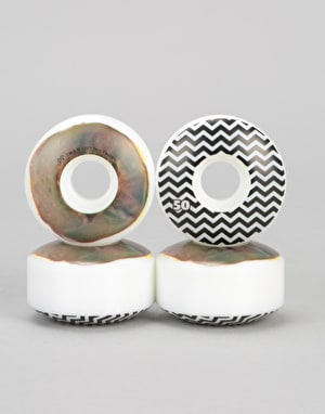 Habitat x Twin Peaks Chocolate Raised Team Wheel - 50mm