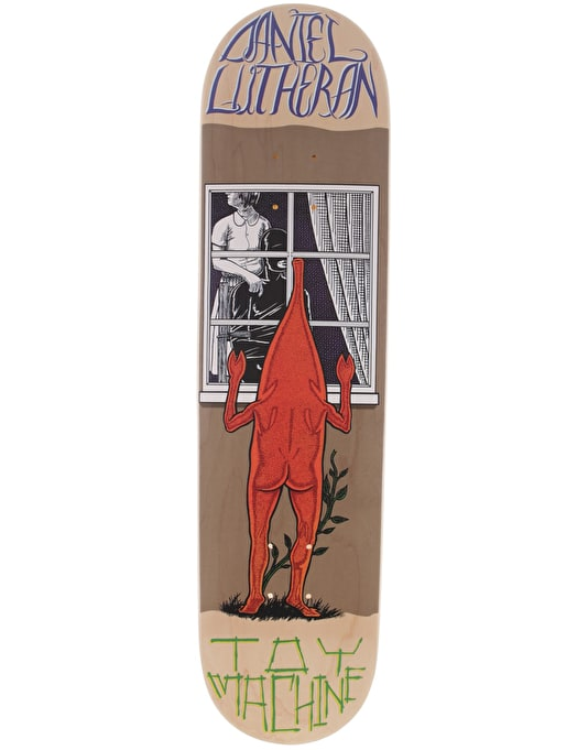 Toy Machine Lutheran Peeping Toy Skateboard Deck - 8.125""