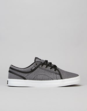 DVS Aversa Skate Shoes - Black Chambray