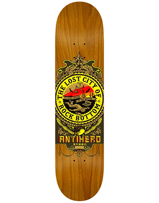 Anti Hero Russo State of Mind Skateboard Deck - 8.25""