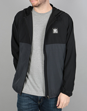 Adidas BB Wind Jacket - Black/Carbon